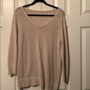 Loft Sweater 3/4 sleeve perfect condition